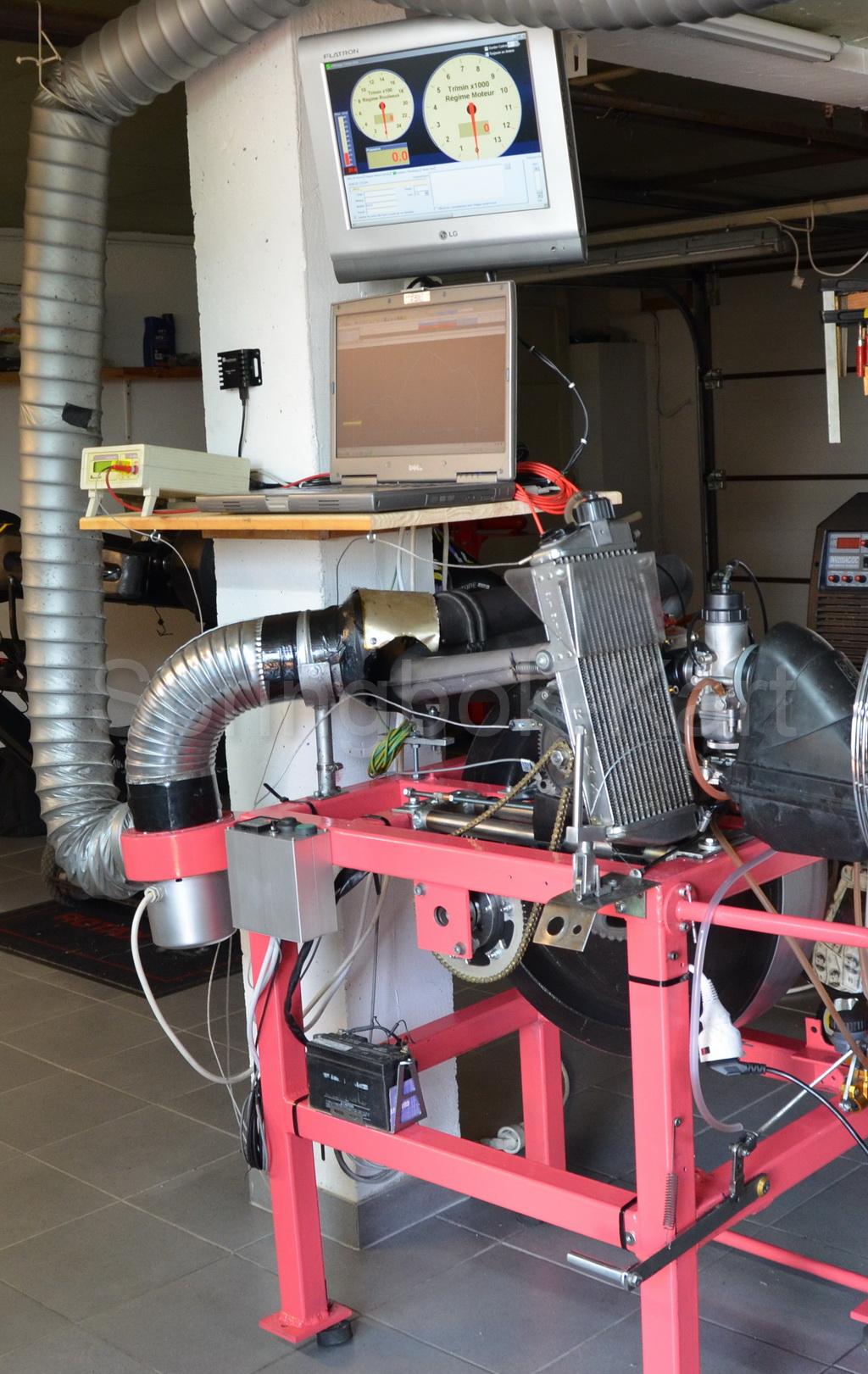 Fabriquer Un Banc D Angle construire un banc de puissance pour moteur thermique